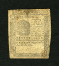 Colonial Notes:Pennsylvania, Pennsylvania October 25, 1775 9d Very Good. The back shows somedetail loss along with evidence of a long ago mounting. A co...