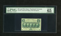 """Fractional Currency:First Issue, Fr. 1310 50c First Issue PMG Gem Uncirculated 65. PMG declares """"exceptional paper quality"""" for this note...."""