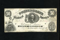 Confederate Notes:1861 Issues, T8 $50 1861. This is a bright and snappy Fine-Very Fine $50....