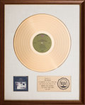 "Music Memorabilia:Awards, A Rod McKuen ""The Sea"" Award, 1967 and a Three Image Display Signed.... (Total: 2 Items)"