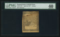 Colonial Notes:Pennsylvania, Pennsylvania April 10, 1777 4d PMG Extremely Fine 40.. ...