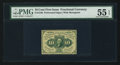 Fractional Currency:First Issue, Fr. 1240 10¢ First Issue PMG About Uncirculated 55 EPQ.. ...