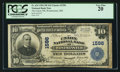 National Bank Notes:Maryland, Westminster, MD - $10 1902 Plain Back Fr. 624 The Union NB Ch. #1596. ...
