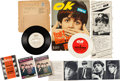 Music Memorabilia:Memorabilia, Beatles Interview Flexi-Discs (Two) with Magazine and Four FoldoutPhoto Books (UK, US, & Germany, 1963-66). ...