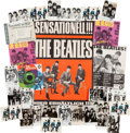 Music Memorabilia:Memorabilia, A Group of Beatles Items Associated With The Odeon Record Label(Germany, 1960s)....