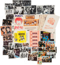 Music Memorabilia:Memorabilia, Beatles Collection of Food & Gum Wrappers and Trading Cards(Worldwide, 1960s). ...