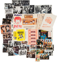 Beatles Collection of Food & Gum Wrappers and Trading Cards (Worldwide, 1960s)