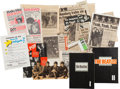 Music Memorabilia:Memorabilia, Two Unique German Beatles Fan Scrapbooks With A Collection ofBeatles News Clippings (Germany 1960s and later).. ...