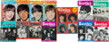 Music Memorabilia:Memorabilia, Beatles Collection of Thirteen Original Fan Magazines (UK &France, 1963-65)....