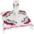 Music Memorabilia:Memorabilia, A Beatles Table Lamp and Tablecloth, both Modern. ...