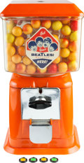 Music Memorabilia:Memorabilia, A Beatles Gumball Machine With a Set of Beatles Capitol Records Gumball Charms (US)....