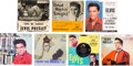 Music Memorabilia:Recordings, Elvis Presley EP's and Singles Group (RCA, 1950s-1984).... (Total: 7 Items)