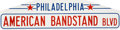 Music Memorabilia:Memorabilia, American Bandstand Blvd Sign from the Dick Clark Collection....