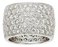 Estate Jewelry:Rings, Diamond, Platinum Eternity Band, Van Cleef & Arpels. ...