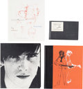 Music Memorabilia:Autographs and Signed Items, Beatles - Pauline Sutcliffe and Kay Williams Signed The Life& Art of Stuart Sutcliffe Deluxe Limited Edition Gene...