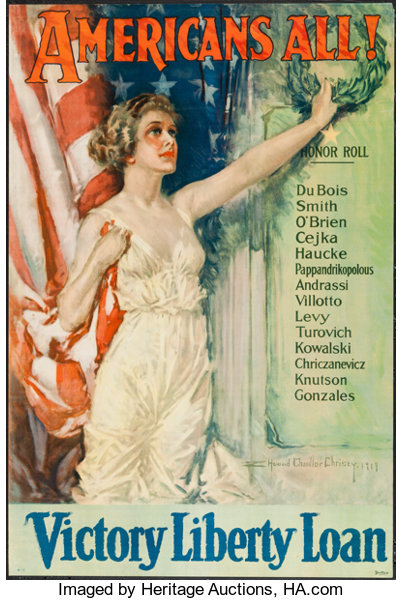 Image result for americans All poster WWI