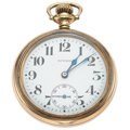 Timepieces:Pocket (post 1900), E. Howard 21 Jewel Railroad Chronometer. ...