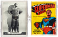 Memorabilia:Trading Cards, Superman Trading Cards and Wax Pack Group (NationalPeriodical/Topps, 1965)....