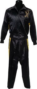 "Movie/TV Memorabilia:Costumes, A Training Suit from ""Rocky III.""..."