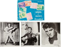 Music Memorabilia:Photos, Elvis Presley Publicity Photos and 1957 Edition of Hillbilly andWestern Scrapbook (1956-57)....