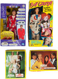 Music Memorabilia:Memorabilia, ABBA, Elton John, and Boy George Dolls from the Dick ClarkCollection.... (Total: 5 )