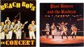 Music Memorabilia:Memorabilia, Beach Boys-1964 and Paul Revere and the Raiders-1966 ProgramBooks....