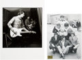 Music Memorabilia:Photos, Spencer Davis Group and the Bee Gees Star Club Photographs, Circa1960s....
