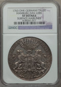 German States:Hamburg, German States: Hamburg. Free City Taler 1763 XF Details (Surface Hairlines) NGC,...