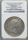 German States:Augsburg, German States: Augsburg. Free City Taler 1765-ITFAH VF Details (Mount Removed Cleaned) NGC,...
