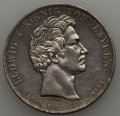 German States:Bavaria, German States: Bavaria. Ludwig I Taler 1827 AU - Cleaned,...