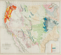 [Maps]. [Mexico]. William H. Emory. Report on the United States and Mexican Boundary Survey, Made Under the Dir