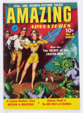 Golden Age (1938-1955):Science Fiction, Amazing Adventures #5 (Ziff-Davis, 1951) Condition: VG/FN....