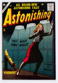 Silver Age (1956-1969):Horror, Astonishing #56 (Atlas, 1956) Condition: FN-....
