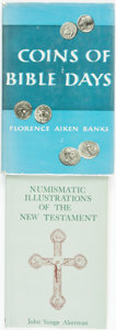 Books:Reference & Bibliography, [Biblical Coins]. Pair of Books. Various publishers, 1955, 1966. ... (Total: 2 Items)