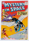 Silver Age (1956-1969):Science Fiction, Mystery in Space #58 (DC, 1960) Condition: FN/VF....