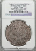 German States:Frankfurt am Main, German States: Frankfurt am Main. Free City Taler 1764-BFN XFDetails (Surface Hairlines) NGC,...