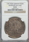 German States:Frankfurt am Main, German States: Frankfurt am Main. Free City Taler 1796-HGBH VF25NGC,...