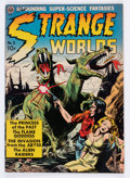 Golden Age (1938-1955):Science Fiction, Strange Worlds #3 (Avon, 1951) Condition: VG/FN....