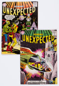 Golden Age (1938-1955):Science Fiction, Tales of the Unexpected #43 and 44 Group (DC, 1959).... (Total: 2Comic Books)