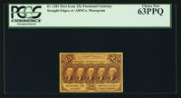 Fr. 1281 25¢ First Issue PCGS Choice New 63PPQ