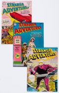 Silver Age (1956-1969):Science Fiction, Strange Adventures Group of 4 (DC, 1954-56).... (Total: 4 ComicBooks)