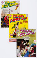 Silver Age (1956-1969):Science Fiction, Strange Adventures Group of 5 (DC, 1957-58).... (Total: 5 Comic Books)