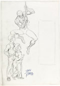 Original Comic Art:Miscellaneous, John Romita Sr. - Spider-Man Young Readers Book Preliminary Artwork Original Art (c. 1970s)....