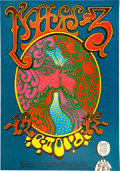 """Memorabilia:Underground, Chuck Berry """"Chaotic Licence"""" Denver Concert Poster #FD-D12 (Family Dog, 1967)...."""
