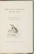 Books:Natural History Books & Prints, William P. Turnbull. The Birds of East Pennsylvania and New Jersey. Glasgow: Printed for Private Circulation, 1869. ...