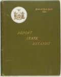 Books:Natural History Books & Prints, [New York:] Charles H. Peck. Annual Report of the State Botanist of the State of New York. [Report on Edible Fungi...