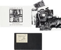 "Music Memorabilia:Memorabilia, A Facsimile of Stuart Sutcliffe ""Bushey"" Sketchbook, With KlausVoormann Beatles Postcard Set. (UK and Germany, 1990s)...."