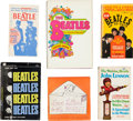 Music Memorabilia:Memorabilia, A Group of Six Beatles Books (UK and US, 1960s)....
