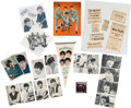 Music Memorabilia:Memorabilia, A Group of British Beatlemania Items (UK, 1960s)....