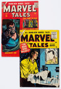 Golden Age (1938-1955):Horror, Marvel Tales #132 and 158 Group (Atlas, 1955-57) Condition: Average FN-.... (Total: 2 Comic Books)